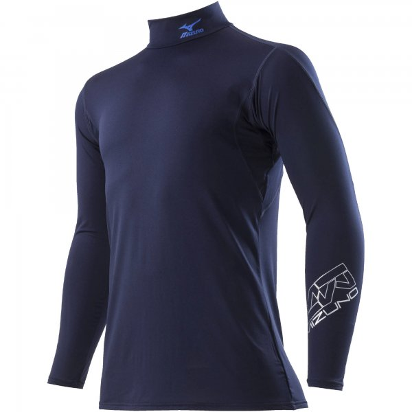 ゼロプラスハイネックシャツ長袖