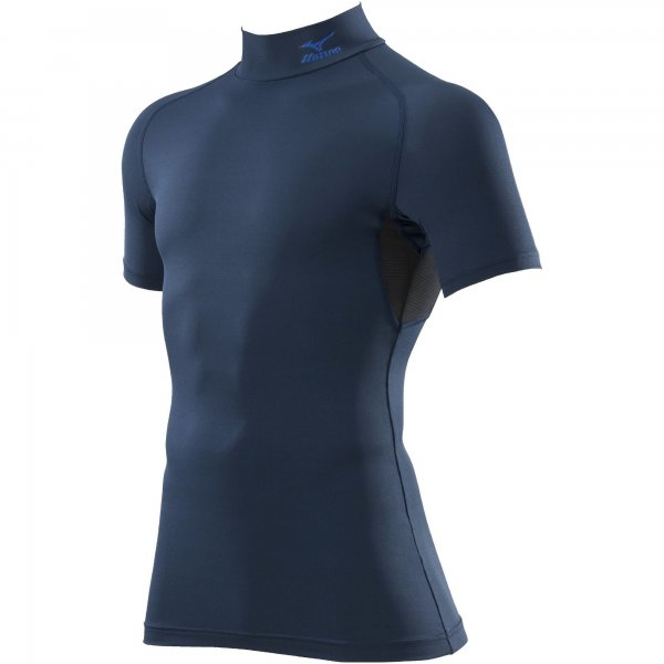 コンプレッションハイネックシャツ半袖