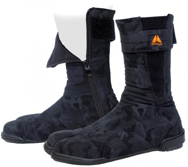 ツインフーブス・安全足袋(黒迷彩)